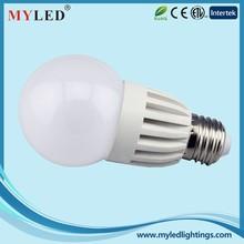 Ningbo Manufacturer Supply 6.5W 8W E27 2835SMD Plastic+Aluminum CE/RoHS G60 LED Lighting Bulbs