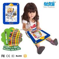 Drawing board ,drawing instruments and materials ,Alkaline Batteries x 4, kids draiwng board led