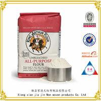 100% manufacturers custom printing non woven Flour sacks 10Lb