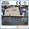 WC67Y-400/6000 Big hydraulic bending machine metal sheet folding machine