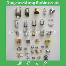 High Quality Handbag Metal Accessories Meatl Cord End Stopper For Handbag Metal fittings for handbag
