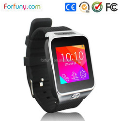 2g GSM 850/900/1800/1900 gprs smart watch mobile phone for samsung
