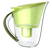 2015 hot sale New design low negative water jug alkaline water filter pitcher