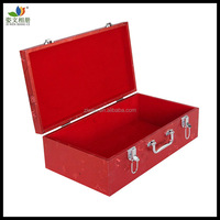Top fashion PU leather wedding album case for gifts(OEM accepted)