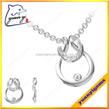 new arrive cheap personalized charms and bead landing pendants with paving whtie cz stones