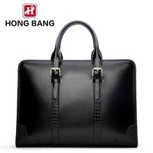 China wholesale real leather men travel bags classical with carry laptop bags