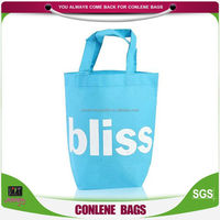 customized recycle printed non woven tote bags