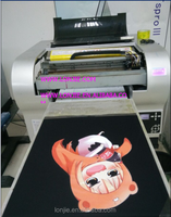 Direct to Garment Digital 3d T-shirt Printer Machine on sale