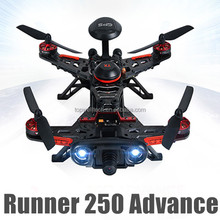 Latest DIY mini quadcopter Runner 250 advance FPV GPS direction warning lamp