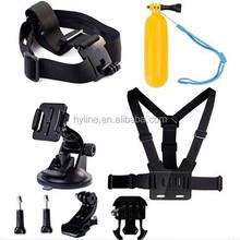 Go pro Belt Head Strap Mount strap with Plastic Buckle For Go pro Accessories Go pro accessories Adjustable Elastic Chest OEM