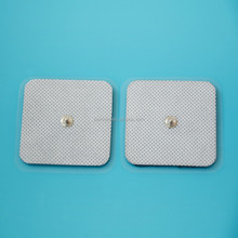 multiple shape and color tens snap adhesive gel electrode pad for physical therapy equipment