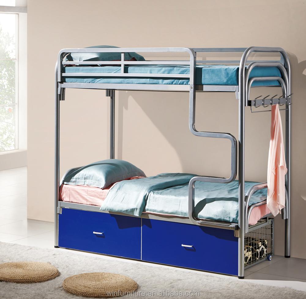 Furniture bedroom metal double deck bed design for uk for Bedroom designs with double deck