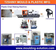 plastic chair making machine