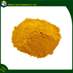 Yellow Iron oxide type inorganic pigment powder wood stain concrete stain