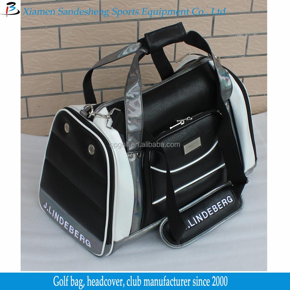 High end golf boston bag view golf boston bag blue power for Mercedes benz golf bag