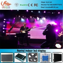 RGX P-47 Die Casting Aluminum Indoor Rental LED Display Screen P3, P4, P5, P6 SMD super thin LED x video wall panel
