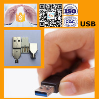 Hot Selling 2.0 Micro USB For Male and Female Types USB Connector