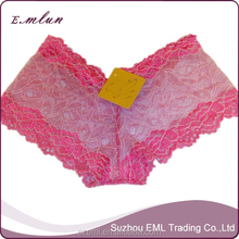 Women cheap mixed design sexy lace boyshorts