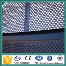 Expanded Metal Mesh for Curtain Wall Facade Decoration