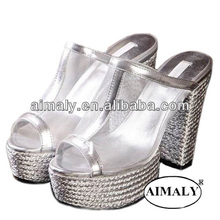 sandalia fábrica China/marca sandalias atractivas