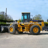 XCMG Wheel loader ZL50G with CAT 3306B technology engine, 5 ton wheel loader