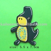 Customized Cute Dinasaur Embroidery Patches/embroidery badge