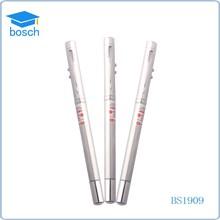 Fashion design light roller pen 2 in 1 ballpoint pen laser pointer pen