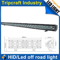 Hot sale products of car auto parts off road led truck lamp 120w 40 inch led light bar