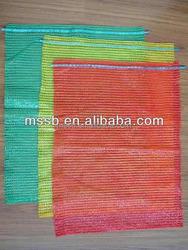 40*60cm plastic onion/fruit mesh bag for packing fruit , orange, firewood,onion ,potatoes