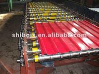 Metal shingles roof sheet forming machine