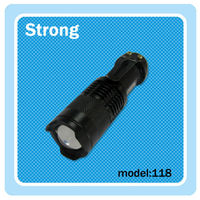 Approved by CE&ROSH anodized Led Mini torch