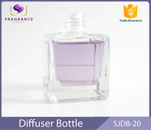 New Arrival square 30ml perfume glass bottle