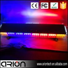 Super slim led light bar 72W mini lightbar 96cm strobe lighting tri-bar led tail light for harley davidson