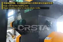 Thailand PET recycling machine, Thailand PET bottle crushing recycling plant