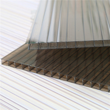 Grade A enterprise types of polycarbonate sheet with fire-retardant certificate
