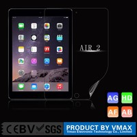 Hot Sell Bubble Free Anti-glare HD Screen Saver 4H 3 Layers Protective Film For iPad Air 2 Mobile Accessories