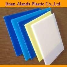 Color widely Pp corrugated plastic sheets