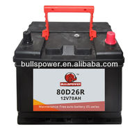 MF car battery 80D26R,car battery manufacturers in usa