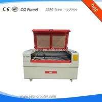metal and non-metal laser cutting and engraving machine 1200*900mm wood furniture factory equipment