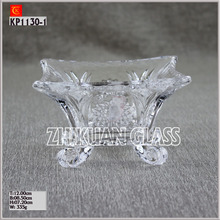 Hot Selling Cheapest 3 sets Glass Plate/Glassware/Dinner ware/Tableware Glass Bowl