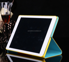 Hybrid Flip Leather Wallet Case for iPad Colorful Rainbow Smart Cover PU Leather Cases For Ipad Mini 3