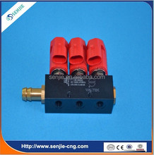 High efficiency conversion kit lpg/cng 3 cyl injector rail