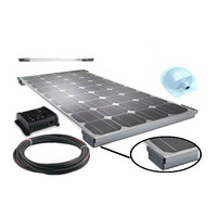 for RV Marine 2015 New Design 12V 100Watt Solar Panel