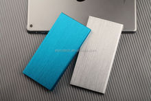 Ultre thin with gold and silver color 10000 power bank