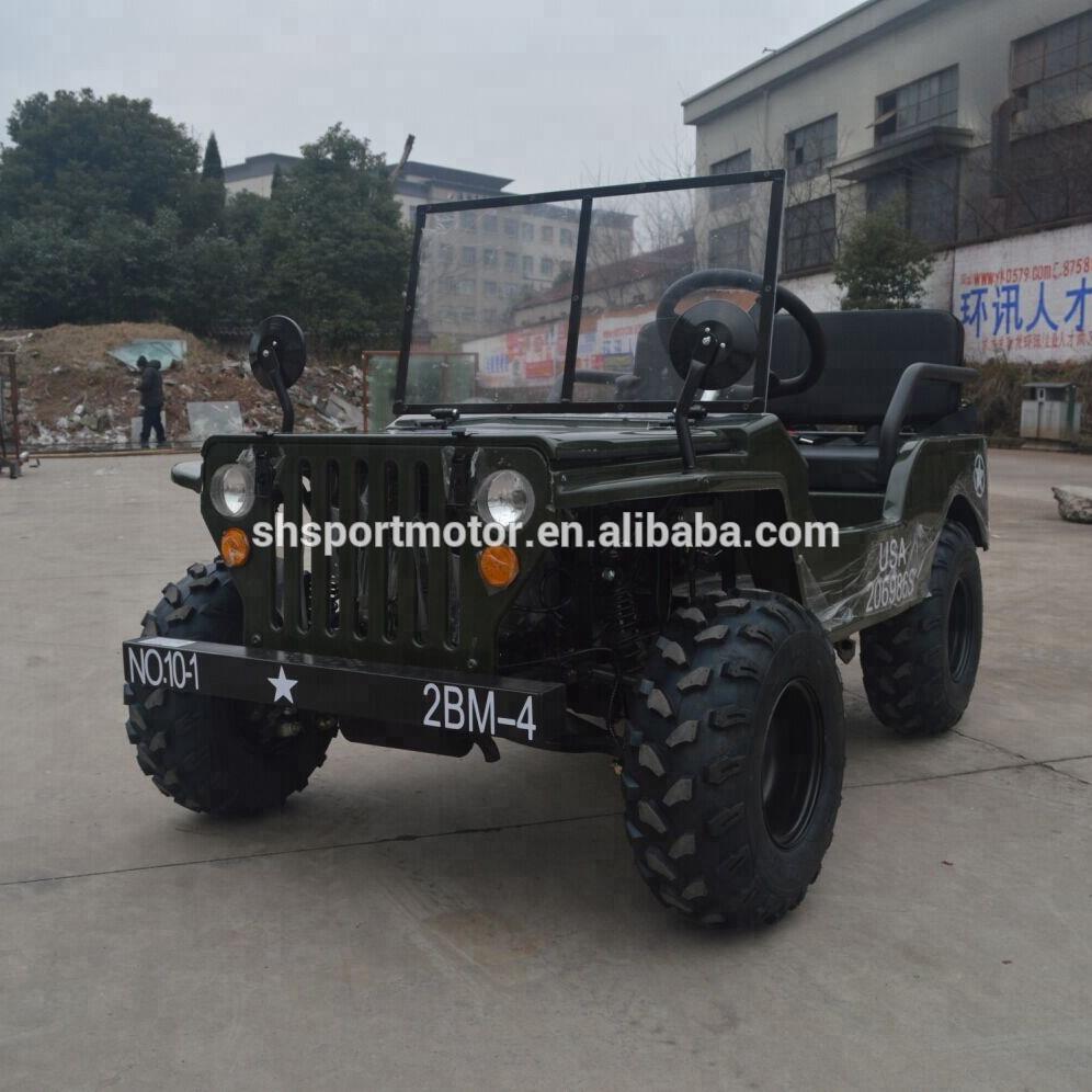 2018 haute qualité 110cc 125cc 150cc quatre roues mini willys jeep