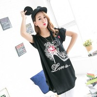 Indian cotton tops for women casual-blouse-for-fat-woman digital printed top tunics big size