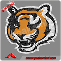 vente en gros strass transfert de correctif motif tigre dessins en strass pour les vêtements