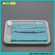 China Dental Supply Disposable Dental Kit / Dental Instrument Set DMZ02-AB