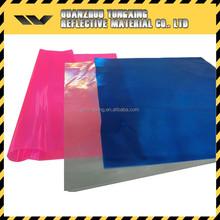 Pink Pvc Reflective Sheet