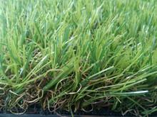 40 mm de monofilamento super suave anti-UV de alta densidad PE + PP caliente Jardín césped sintético